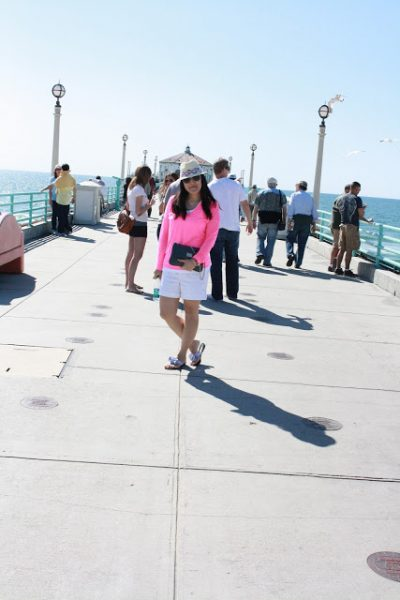 Hot Pink at The Pier!