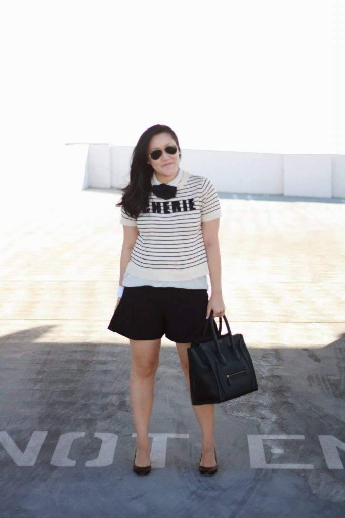 simplyxclassic, rayban, forever21, celine bag, celine handbag, ootd, style, fashion blogger, style blogger, bow tie, southern california, blogger