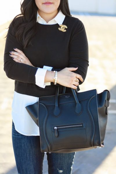 OOTD: Easy Layering, Black and White