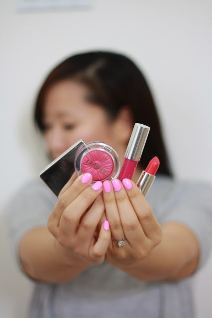 simplyxclassic, clinique, beauty products, beauty blogger, clinique chubby stick, clinique cc cream, clinique cheek pop, beauty guru, blush, lipstick,