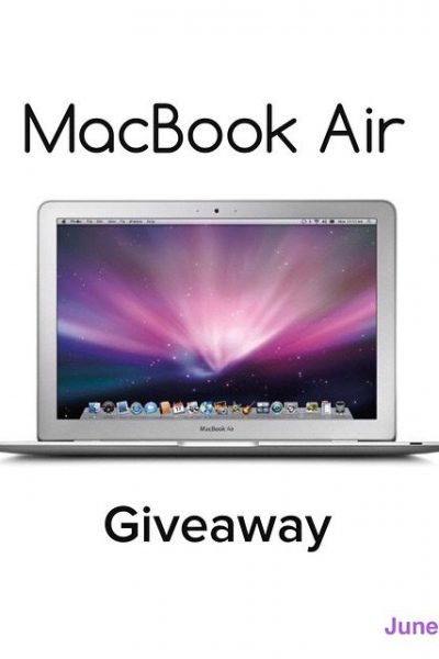UNFANCY FRIDAY – Macbook Air Giveaway!