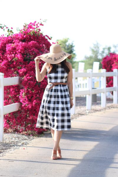 STYLE: I'm Busy With This Gingham Dress