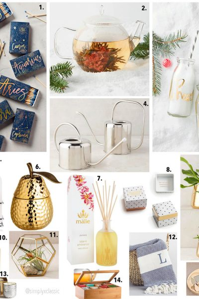 Gift Guide 2016:  Hostess Gift Idea