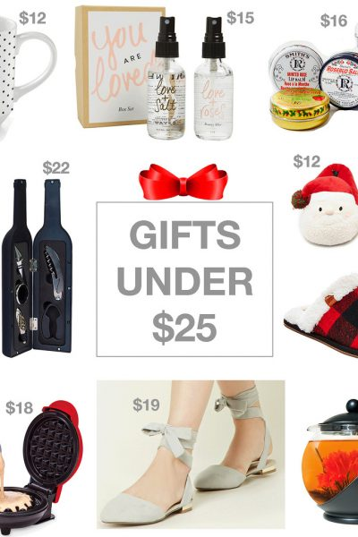 10 Gifts Under $25!