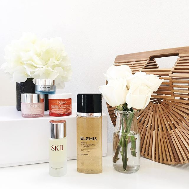 simplyxclassic, skincare, beauty, blogger, beauty blogger, clinique, elemis, sk-ii oil, kiehls mask, it cosmetics