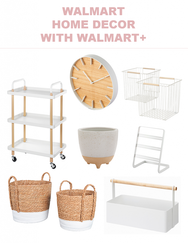 walmart plus, walmart home goods, home decor