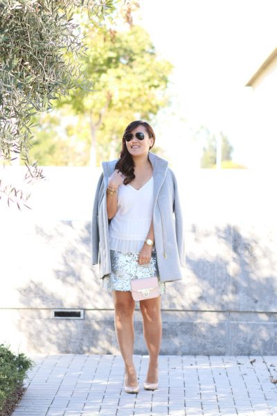 STYLE: The Classic Sequin Skirt