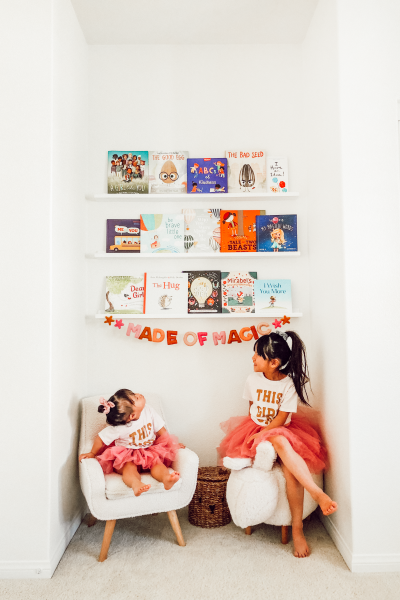 Kids Library Wall with Wayfair